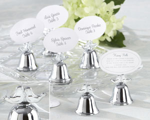 bytes bell photo name card holder or table number